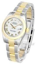 Rolex Lady-Datejust 26 Hvit/Stål