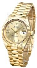 Rolex Lady-Datejust 28 Champagnefarget/18 karat gult gull