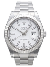 Rolex Datejust II White Dial