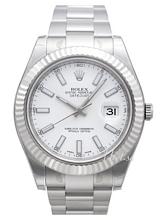 Rolex Datejust II White Dial