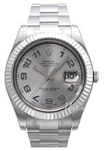 Rolex Datejust II Grå/Stål Ø41 mm