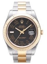 Rolex Datejust II Black Dial Oyster Bracelet