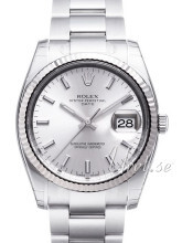 Rolex Perpetual Date Silver Dial Oyster Bracelet