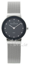 Skagen Freja Sort/Stål Ø26 mm