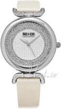So & Co New York SoHo Sølvfarget/Sateng Ø38 mm