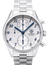 TAG Heuer Carrera Calibre 16 Heritage Automatic Chronograph Sølv