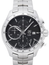 TAG Heuer Link Calibre 16 Automatic Chronograph Stål Ø43 mm