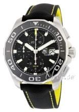 TAG Heuer Aquaracer Chronograph Sort/Tekstil Ø43 mm