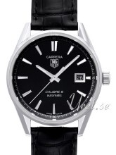 TAG Heuer Carrera Sort/Lær