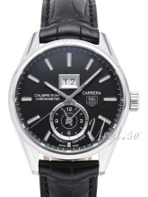 TAG Heuer Carrera Calibre 8 Sort/Lær Ø41 mm