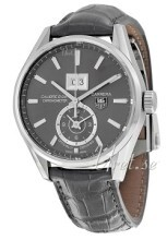 TAG Heuer Carrera Calibre 8 Grå/Lær Ø41 mm