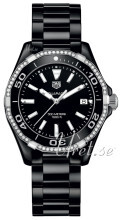 TAG Heuer Aquaracer Lady Sort/Keramik