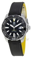 TAG Heuer Aquaracer Sort/Gummi Ø41 mm