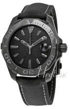 TAG Heuer Aquaracer Sort/Tekstil