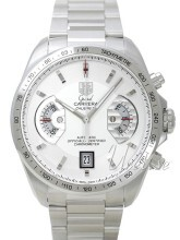 TAG Heuer Grand Carrera Calibre 17 Automatic Chronograph Hvit/St