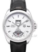 TAG Heuer Grand Carrera Calibre 8RS Grande Date And GMT Sølvfar