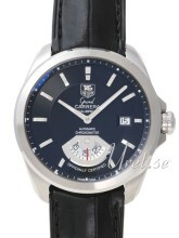 TAG Heuer Grand Carrera Calibre 6RS Automatic Sort/Lær Ø40.2 mm