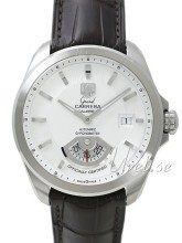 TAG Heuer Grand Carrera Calibre 6RS Automatic Sølvfarget/Lær Ø40