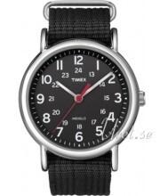 Timex Weekender Sort/Stål Ø38 mm