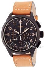 Timex Intelligent Sort/Lær Ø46 mm