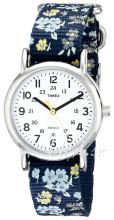 Timex Weekender Hvit/Stål Ø31 mm