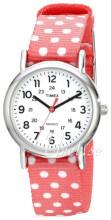 Timex Weekender Hvit/Tekstil Ø31 mm