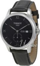 Tissot Tissot T-Classic Sort/Lær Ø39.3 mm