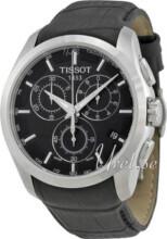 Tissot T-Trend Couturier Sort/Lær Ø41 mm