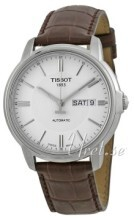 Tissot Automatics III Sølvfarget/Lær