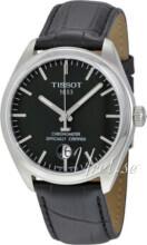 Tissot PR 100 Gent Cosc Sort/Lær