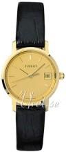Tissot T-Gold Champagnefarget/Lær