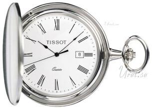 Tissot T-Pocket Savonnette Quartz Hvit Ø47.5 mm