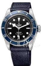 Tudor Heritage Blue Bay Sort/Lær