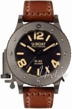 U-Boat U-42 Sort/Lær Ø53 mm